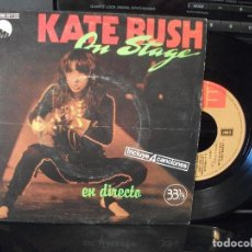 Discos de vinilo: KATE BUSH ON STAGE - EN DIRECTO EP SPAIN 1979 PDELUXE. Lote 96074791