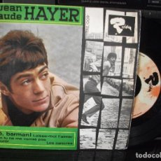 Discos de vinilo: JEAN CLAUDE HAYER HE BARMAN + 3 EP SPAIN 1966 PDELUXE. Lote 96075071