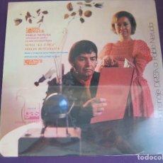 Discos de vinilo: SONIA LA UNICA + SERGIO BUSTAMANTE - HOMENAJE A PABLO NERUDA LP DIRESA 1973 - POESIA. Lote 96078831