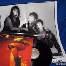 Discos de vinilo: MECANO - DALAI LAMA - REMIX VERSION - MAXISINGLE 1991 - COMPLETO CON POSTER GIGANTE - COMO NUEVO. Lote 194505200