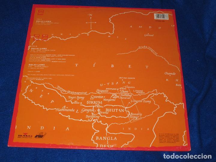 Discos de vinilo: MECANO - DALAI LAMA - REMIX VERSION - MAXISINGLE 1991 - COMPLETO CON POSTER GIGANTE - COMO NUEVO - Foto 3 - 194505200