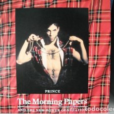 Discos de vinilo: PRINCE - THE MORNING PAPERS (SG) 1991. Lote 96089043