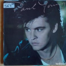 Disques de vinyle: LP - PAUL YOUNG - THE SECRET OF ASSOCIATION (SPAIN, CBS 1985). Lote 111596475