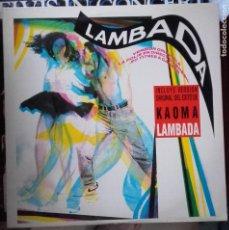 Discos de vinilo: LP KAOMA LAMBADA ORIGINAL ESPAÑA. Lote 96070847
