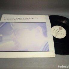 Discos de vinilo: 1018- NICK HEYWARD - YOU RE MY WORLD - MAXI SINGLE 12 - PORT VG ++ DISCO VG ++. Lote 96104995