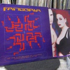 Discos de vinilo: FANGORIA - UN DIA CUALQUIERA EN VULCANO (SUPER EXTENDED PLAY 1.0) 1992 SPAIN. Lote 210075300