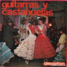 Discos de vinilo: GUITARRAS Y CASTAÑUELAS Nº 3 / GUITARRAS : ALFONSO Y JUAN LABRADOR / EP DISCOPHON DE 1964 RF 3040. Lote 96129463