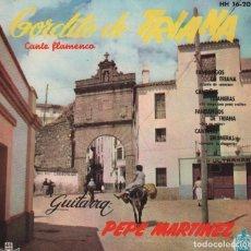 Discos de vinilo: GORDITO DE TRIANA - LLANTO DE CORAZON / QUE NO ESTOY / LEVANTA LA CHAQUETA...EP HISPAVOX DE 1961. Lote 96133191