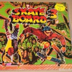 Discos de vinilo: SKATE BOARD 3 - DOBLE LP - BLANCO Y NEGRO 1991.. Lote 96144403