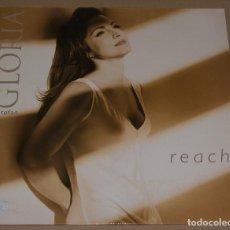 Discos de vinilo: GLORIA ESTEFAN - REACH - EPIC. Lote 96145599