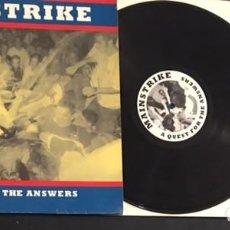 Discos de vinilo: DISCO LP VINILO MAINSTRIKE A QUEST FOR THE ANSWERS - HARDCORE. Lote 96151891