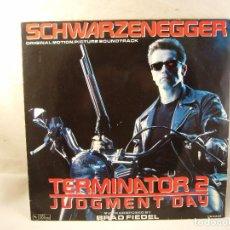 Discos de vinilo: TERMINATOR 2 / ORIGINAL SOUNDTRACK / BRAD FIEDEL / BANDA SONORA. Lote 96163407
