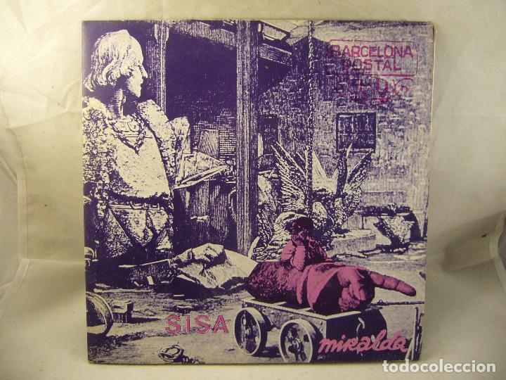 SISA - MIRALDA - BARCELONA POSTAL - 1982 - LP (Música - Discos de Vinilo - Maxi Singles - Cantautores Españoles)