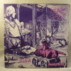Discos de vinilo: SISA - MIRALDA - BARCELONA POSTAL - 1982 - LP. Lote 96172675