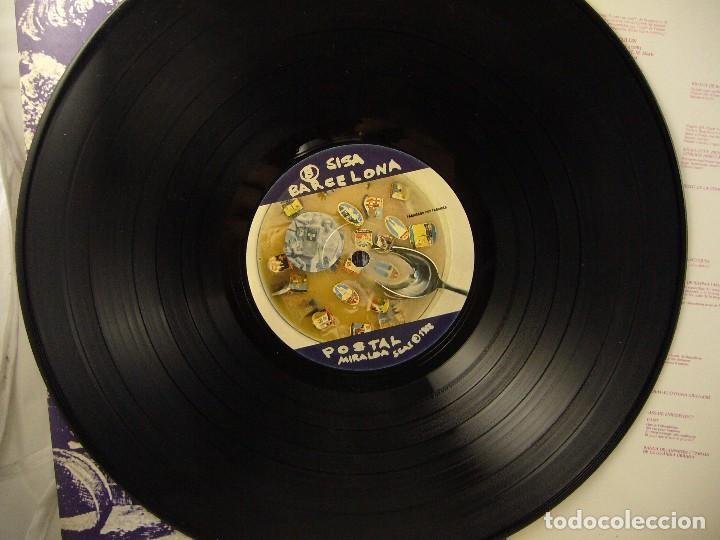 Discos de vinilo: SISA - MIRALDA - BARCELONA POSTAL - 1982 - LP - Foto 8 - 96172675