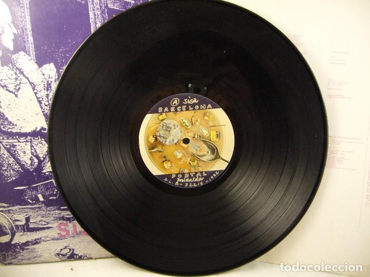 Discos de vinilo: SISA - MIRALDA - BARCELONA POSTAL - 1982 - LP - Foto 9 - 96172675