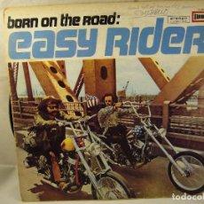 Discos de vinilo: VVAA. BORN ON THE ROAD: EASY RIDER (BSO). EUROPA, GERMANY 1970 LP. Lote 96173447