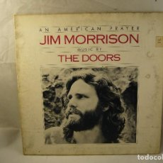 Discos de vinilo: JIM MORRISON MUSIC BY THE DOORS ?– AN AMERICAN PRAYER. SPAIN 1978. Lote 96174639