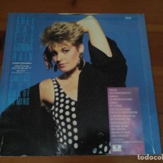 Discos de vinilo: HAZELL DEAN - THEY SAY IT'S GONNA RAIN (INDIAN SUMMER MIX) . Lote 96193259