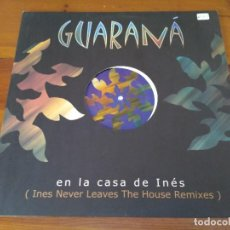 Discos de vinilo: GUARANÁ - EN LA CASA DE INÉS. Lote 96193879