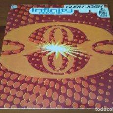 Discos de vinilo: GURU JOSH - INFINITY (REMIX 96) . Lote 96194403