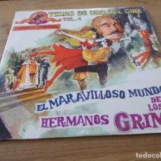 Discos de vinilo: TEMAS DE ORO DEL CINE. VOL.4. EL MARAVILLOSO MUNDO DE LOS HERMANOS GRIMM. Lote 96210095