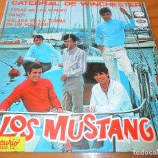 Discos de vinilo: LOS MUSTANG - CATEDRAL DE WINCHESTER/ VERAS QUE ES VERDAD/ DANDY +1 - EP 1967. Lote 96212923