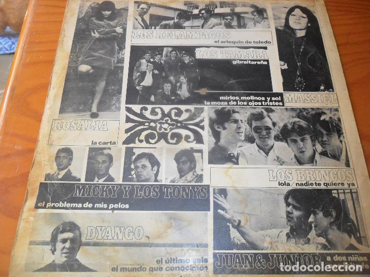 Discos de vinilo: TUS FAVORITOS LP 1967- LOS BRINCOS, MICKY Y LOS TONYS, RELAMPAGOS, JUAN & JUNIOR, DYANGO, TAMARA... - Foto 2 - 96213243