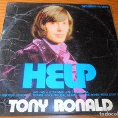 Discos de vinilo: TONY RONALD - HELP - LP. Lote 96213575