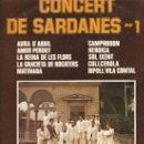 Discos de vinilo: COBLA LA PRINCIPAL DE LA BISBAL - CONCERT DE SARDANES 1- LP DISCOPHON 1976. Lote 96215223