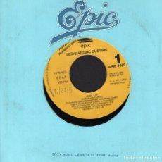 Discos de vinilo: NED'S ATOMIC DUSTBIN - TRUST / SINGLE PROMO EPIC DE 1991 . RF 3076. Lote 190913576