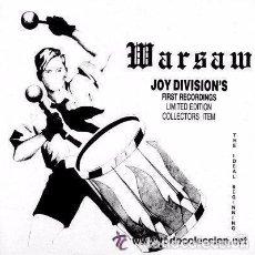 Discos de vinilo: WARSAW:THE IDEAL BEGINNING, MAXI-SINGLE (LP 663), UNOFFICIAL RELEASE, GREECE . Lote 96220371