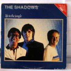 Discos de vinilo: THE SHADOWS. LIFE IN THE JUNGLE. Lote 96229299