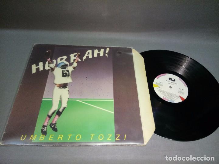918- UMBERTO TOZZI - HURRAH DISCO VINILO LP -PORT VG + DISCO VG ++ (Música - Discos - LP Vinilo - Otros estilos)