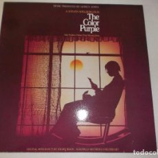Discos de vinilo: THE COLOR PURPLE QUINCY JONES 1986 2LPS CBS. Lote 96245695