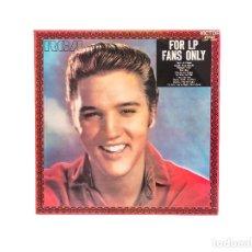 Discos de vinilo: LP. FOR LP FANS ONLY. ELVIS PRESLEY. (VG+/VG+). Lote 96249347