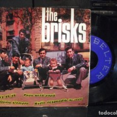 Discos de vinilo: THE BRISKS NADIE RESPONDIO + 3 EP SPAIN 1965 PDELUXE. Lote 96255375