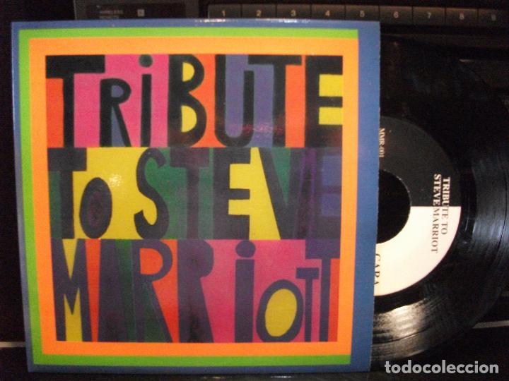 STEVE MARRIOT TRIBUTE AFTERGLOWN + 3 EP SPAIN 1995 PDELUXE (Música - Discos de Vinilo - EPs - Pop - Rock Extranjero de los 90 a la actualidad)