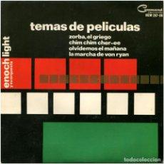 Discos de vinilo: ENOCH LIGHT Y SU ORQUESTA - TEMAS DE PELICULAS - EP SPAIN 1965 - COMMAND HCM 287-06. Lote 96260635