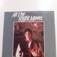 Discos de vinilo: ALL THE RIGHT MOVES ( 1984 CASABLANCA ESPAÑA) TOM CRUISE JENNIFER WARNES FRANKIE MILLER WINSTON FORD. Lote 96265891