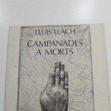 Discos de vinilo: LLUIS LLACH CAMPANADES A MORTS ( 1977 MOVIEPLAY ESPAÑA ) CATALUÑA. Lote 96265995