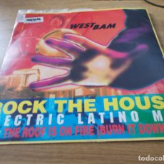 Discos de vinilo: WESTBAM. ROCK IS ON FIRE.ROCK THE HOUSE. ELECTRIC LATINO MIX. Lote 96299919