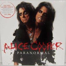 Discos de vinilo: ALICE COOPER - PARANORMAL - 2 LP - EAR MUSIC 2017 GERMANY - NUEVO PRECINTADO. Lote 96303243