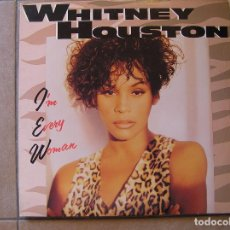 Discos de vinilo: WHITNEY HOUSTON – I'M EVERY WOMAN - ARISTA 1993 - MAXI - P -. Lote 112791704