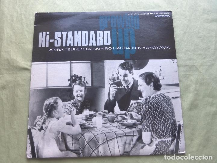 GROWING UP. HI-STANDARD. A FAT WRECK CHORDS PRODUCTION - 1996 (Música - Discos - LP Vinilo - Punk - Hard Core)
