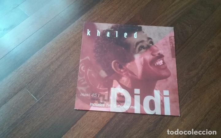 KHALED-DIDI.MAXI (Música - Discos de Vinilo - Maxi Singles - Étnicas y Músicas del Mundo)