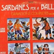 Discos de vinilo: SARDANES PER A BALLAR - MINI LP, DISCOPHON - - STER.89, VOL. 26 - SPAIN. Lote 96351971
