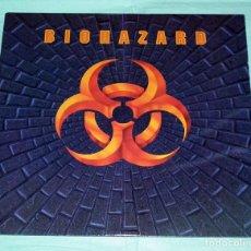 Discos de vinilo: LP BIOHAZARD - BIOHAZARD. Lote 96353811