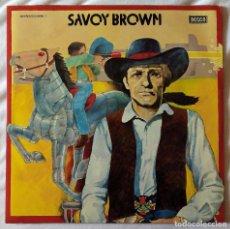 Discos de vinilo: SAVOY BROWN, JACK THE TOAD + BOOGIE BROTHERS (DECCA) 2 X LP ESPAÑA - GATEFOLD. Lote 96356531