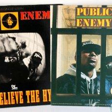 Discos de vinilo: LP Y MAXI DE PUBLIC ENEMY. Lote 96369323